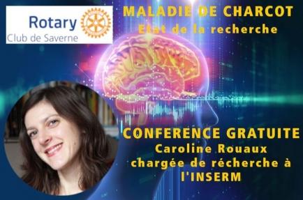 L'état de la recherche sur la maladie de Charcot par Caroline Rouaux, chargée de recherche à l'INSERM.