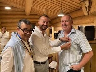 André Bastady a rejoint le Rotary Club de Ferrette Pays du Sundgau le 27.8.2021.