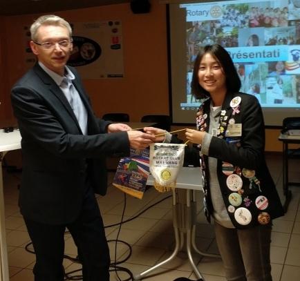 Chidsanucha Theekeng, originaire de Thaïlande, est accueillie à Saverne pour l'année scolaire 2017/2018.